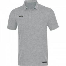 JAKO Men's Polo Premium Basics heather gray