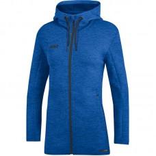 JAKO Ladies Hooded Jacket Premium Basics royal