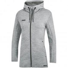 JAKO Ladies Hooded Jacket Premium Basics gray