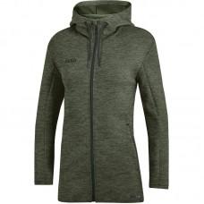 JAKO ladies hooded jacket Premium Basics khaki