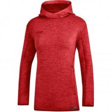 JAKO Women's Hooded Sweater Premium Basics red