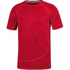 T-shirt Active Basics red melange