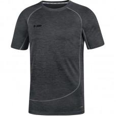 T-shirt Active Basics black melange
