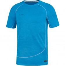 T-shirt Active Basics blue melange