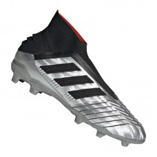 adidas Predator 19+ FG J Kids Silver Black Red