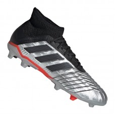 adidas Predator 19.1 FG J Kids Silver Black Red