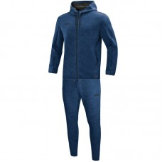 Jogging suit Premium Basics with hood mottled