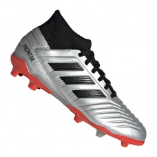adidas Predator 19.3 FG J Kids Silver Black Red