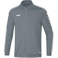 Jako Polyester jacket Striker 2.0 stone grey-white 40
