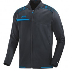Jako Club jacket Prestige anthracite-blue