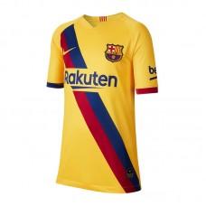 Nike FC Barcelona Trikot Away 2019/2020 Gelb Kids 728