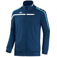 Training jacket Performance navy-white-aqua 45