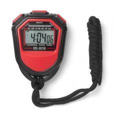Stopwatch digital Red