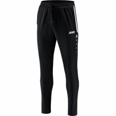 Jako Training trousers Prestige black-white 08