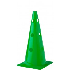 Cone with holes Height 38 cm Green