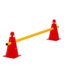 Cone Hurdle Single Hurdle Height 23 cm Red