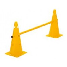 Cone Hurdle Single Hurdle Height 38 cm Yellow