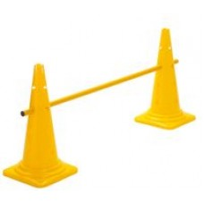 Cone Hurdle Single Hurdle Height 52 cm Yellow