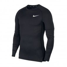 Nike Pro Top Compression Crew dł 010