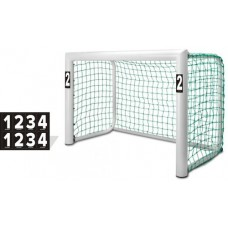 Number stickers for mini goals - Set (2 x 1-4)