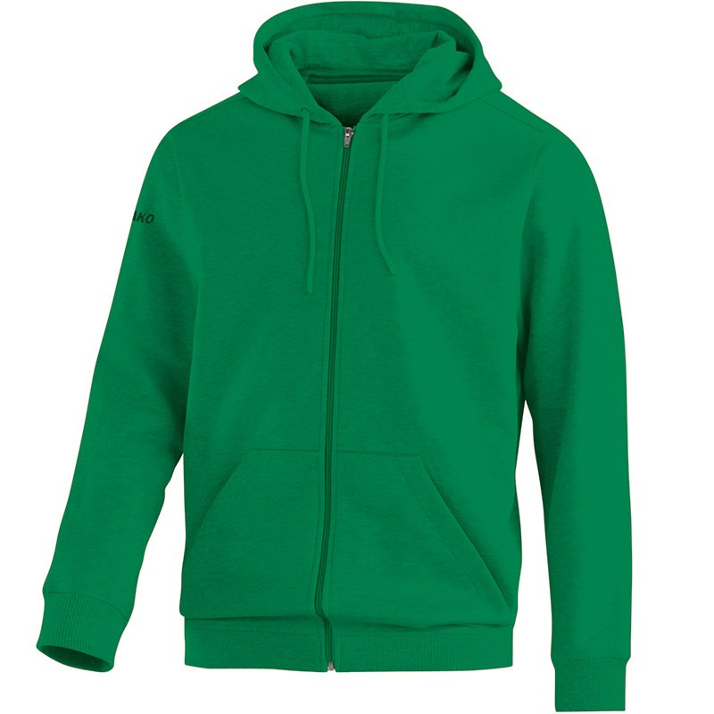 Hooded jacket Team sport green