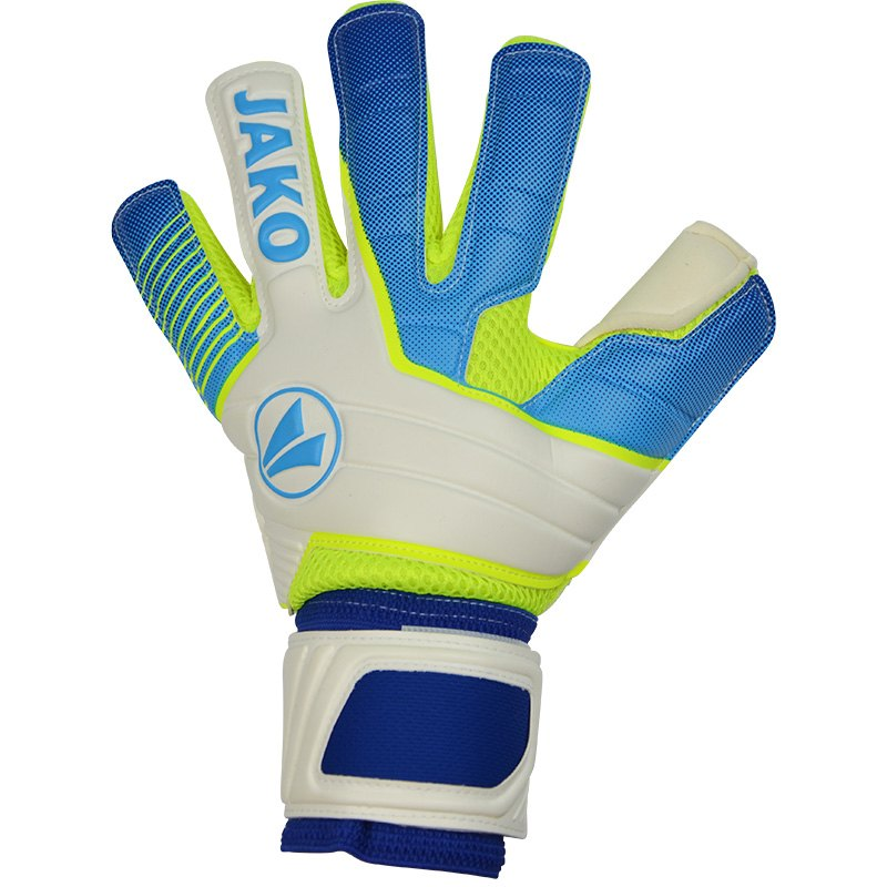 GK-Glove Champ SuperSoft NC lime-JAKO blue