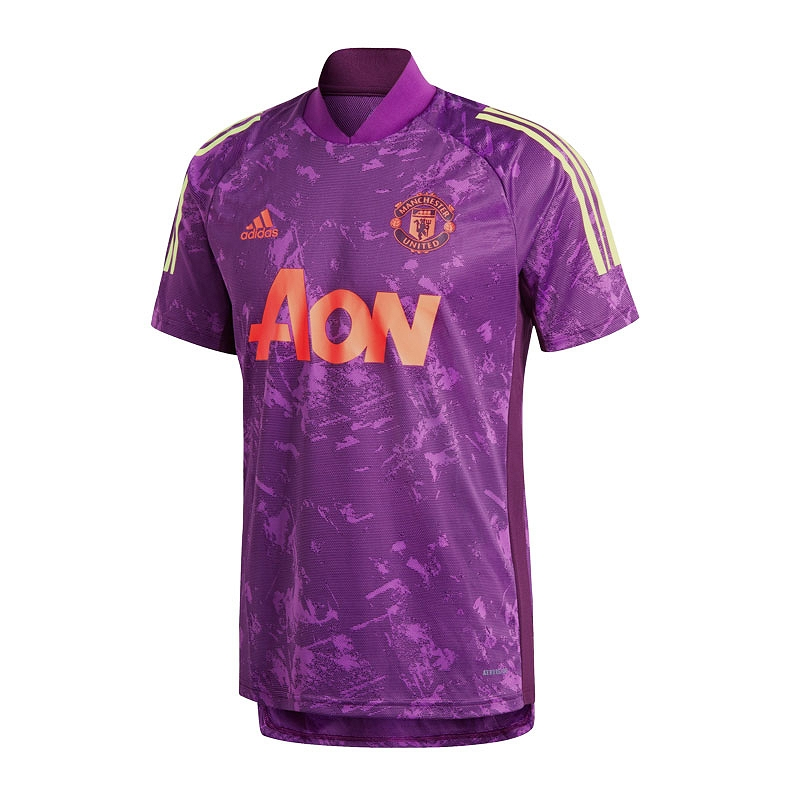 ADIDAS MUFC TRAINING JERSEY T-SHIRT 702